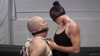 Bound, gagged and smothered